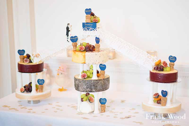 Compton Verney Wedding Cheese Wedding Cake