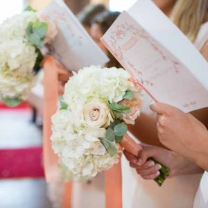 Peach and Cream Bridesmaids Bouquets Passion for Flowers