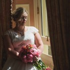 Coral peony bridal bouquet - trailing bouquets by Passion for Flowers (2)