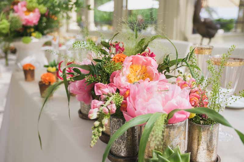 top table wedding flowers luxe wedding by Passion for Flowers (3)