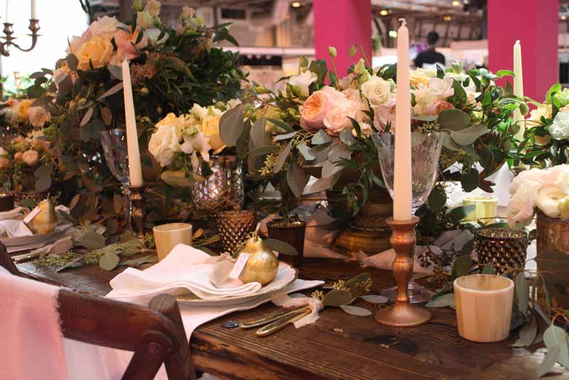 Passion for Flowers stand at The National Wedding Show Birmingham
