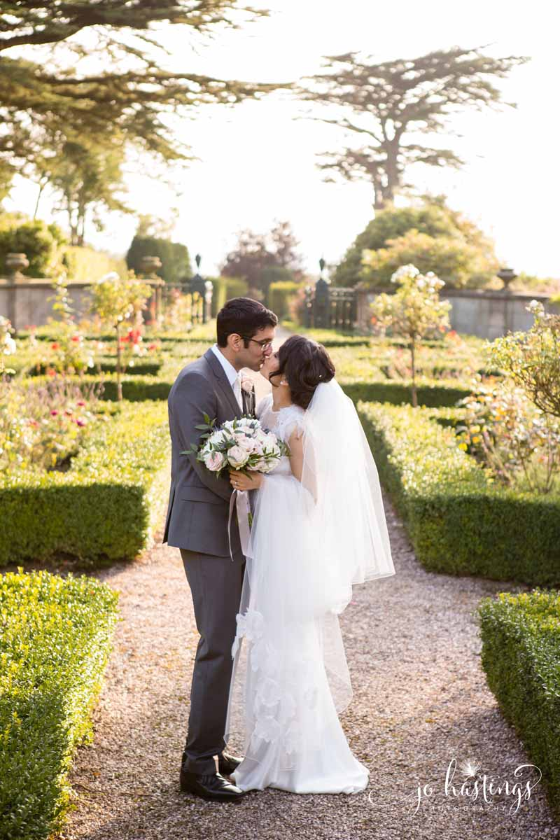 Wedding and Heath House bride and groom portraits