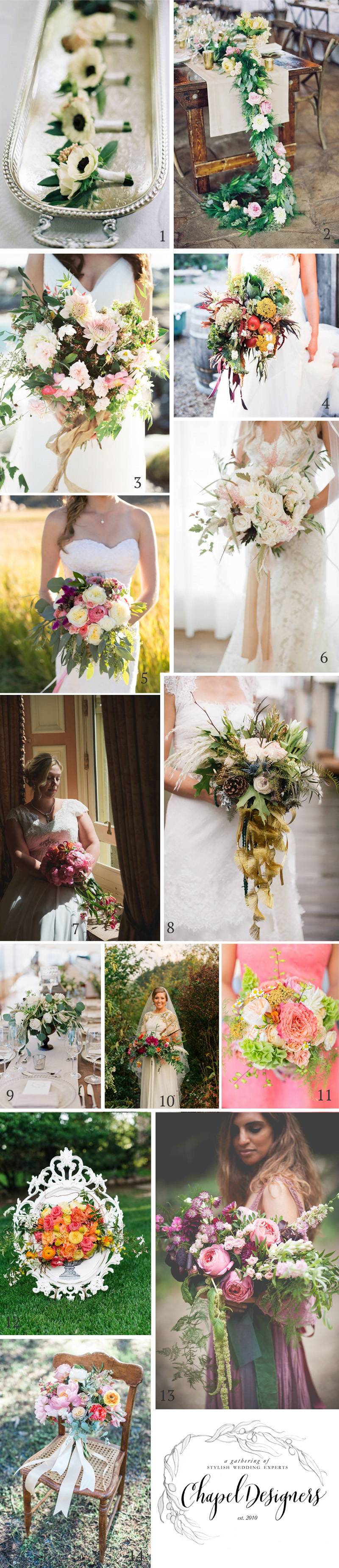 chapel designers - a collection of stylish wedding florists - @kmorganflowers UK Chapel Designer