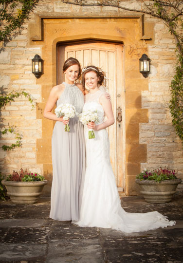 grey bridesmaids dresses for winter wedding with grey and white flowers by @kmorganflowers Passion for Flowers