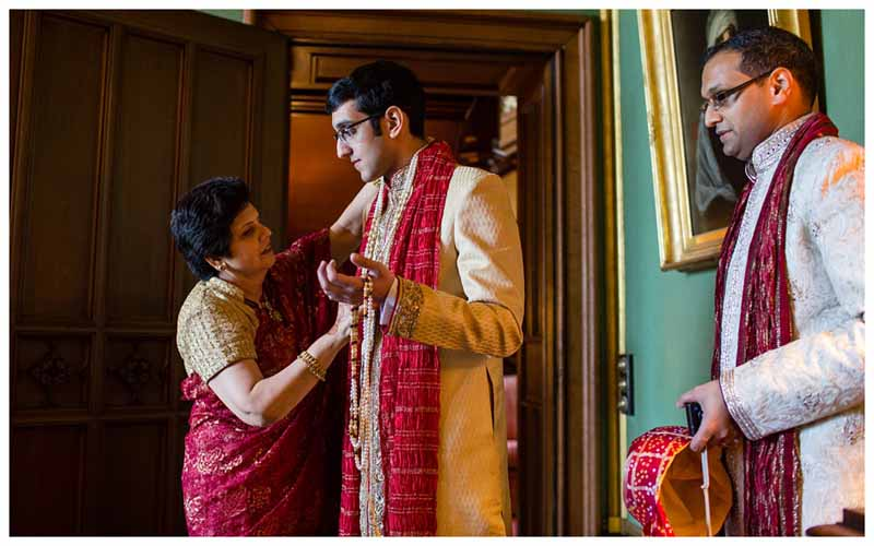 Hindu Wedding Ceremony at The Heath House Staffordshire
