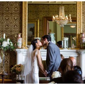 Wedding Ceremony flowers at The Heath House by Passion for Flowers @kmorganflowers
