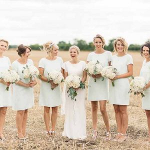 Bridesmaids-bouquets-for-s-rustic-luxe-barn-wedding-Florist-Passion-for-Flowers-@kmorganflowers