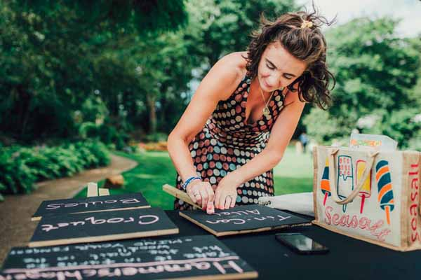 Chalkboard signs for weddings (2)