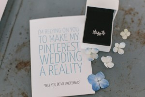 Im relying on you to make my pinterest wedding a reality - bridesmaid proposal card