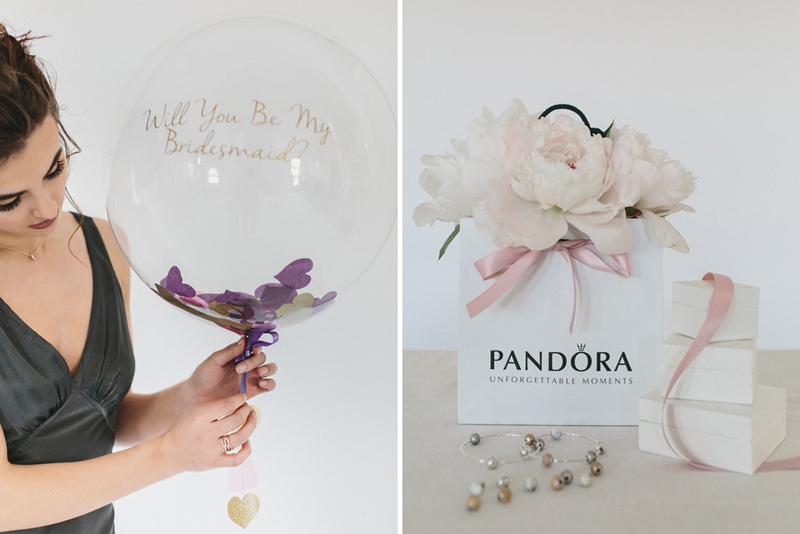 Pandora Gift Bag with Flowers by Passion for Flowers