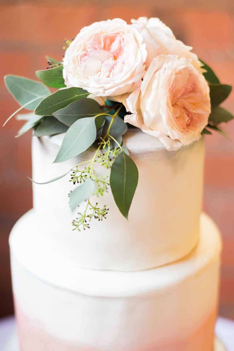 elegant wedding cake flowers by passion for flowers @kmorganflowers