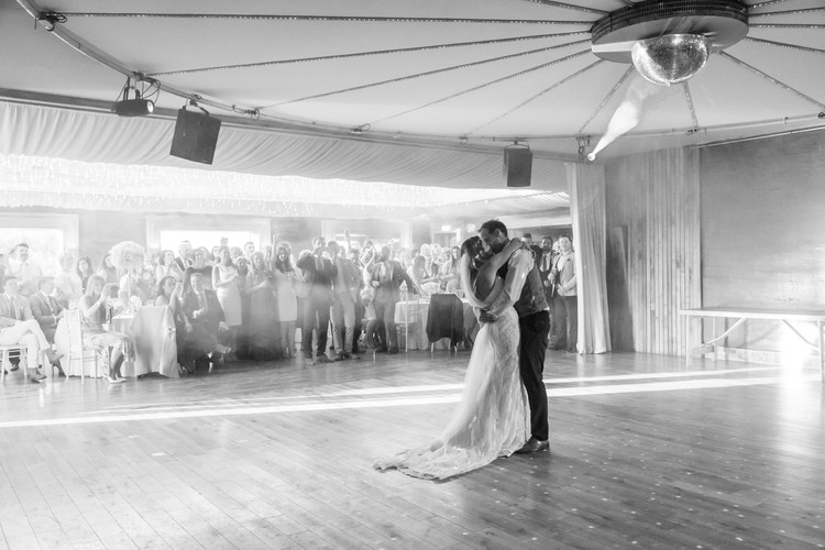 Elmore Court wedding dance floor