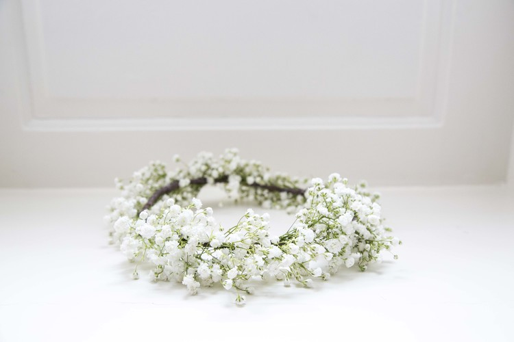 Gypsophila (Baby's Breath) Flower Crowns