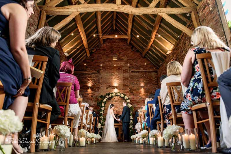 Packington Moor Wedding Ceremony Flowers and Decorations Archways and Aisle Flowers