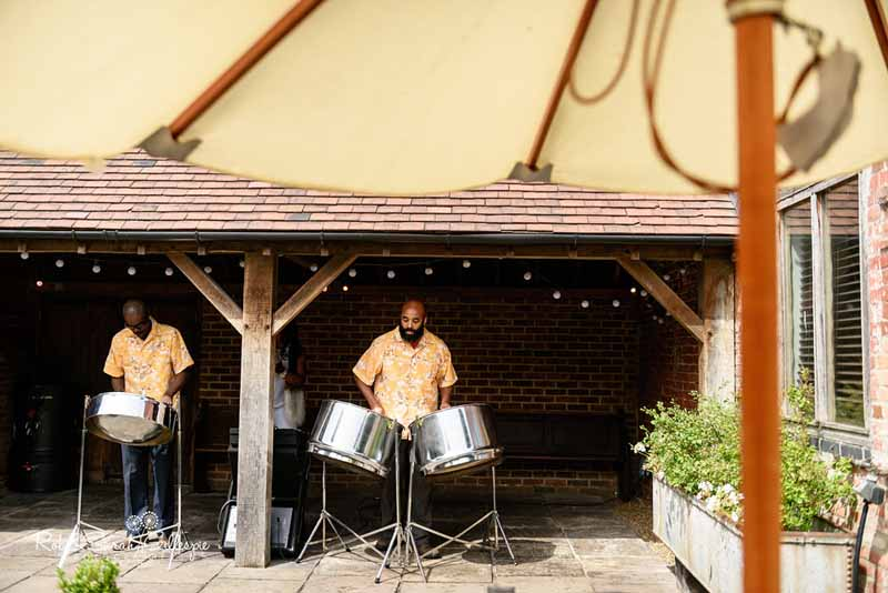 Steel drums wedding music