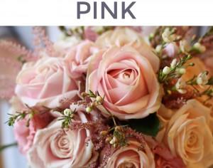 pink flower mix