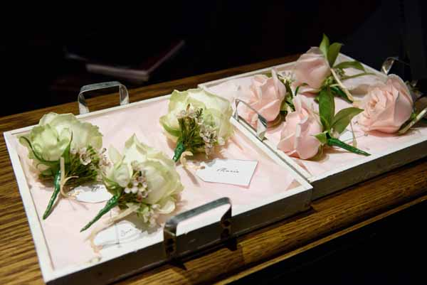 button-holes-and-corsages-pink-roses-cream-roses