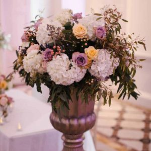 ceremony-urns-at-compnton-verney-wedding-by-passion-for-flowers