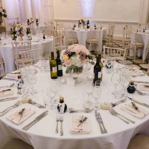 compton-verney-wedding-centrepieces-low-footed-glass-bowls