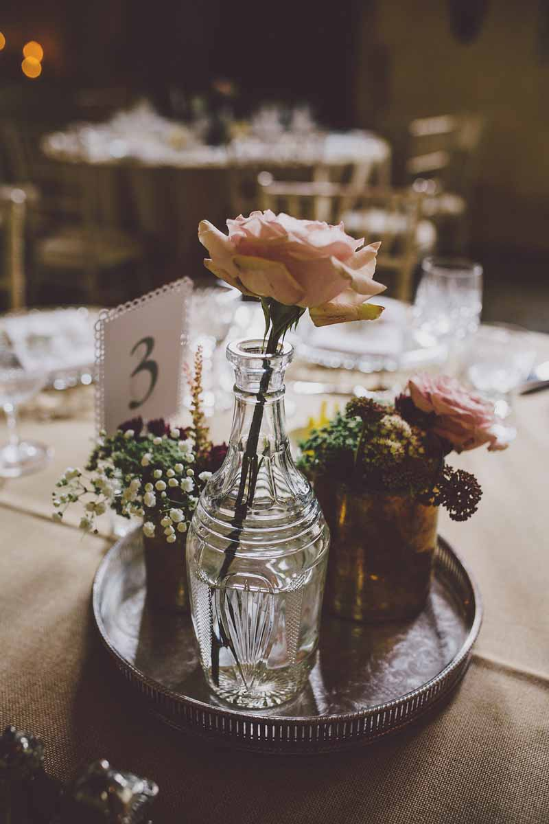 crystal-glass-vases-and-silver-wedding-centrepieces-at-sudeley-castle-by-passion-for-flowers-2