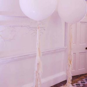 giant-balloons-with-tassels-at-compton-verney-wedding-ceremony