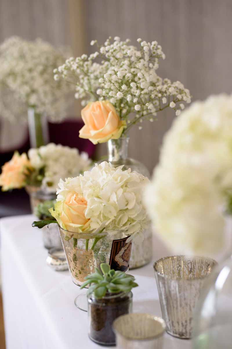 glass-vases-for-wedding-ceremony-tables-white-and-peach-flowers-by-passion-for-flowers-2