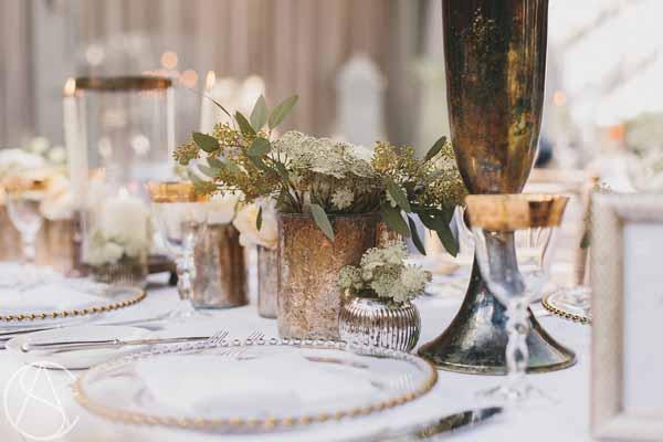 gold-bronze-vases-wedding-centrepieces-hampton-manor-wedding-florist-passion-for-flowers-9