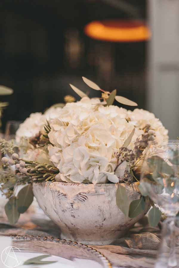 rustic-elegance-stone-centrepieces-white-hydrangeas-hampton-manor-wedding-florist-passion-for-flowers-24