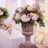 statement-gold-urns-for-wedding-ceremonies-compnton-verney-wedding