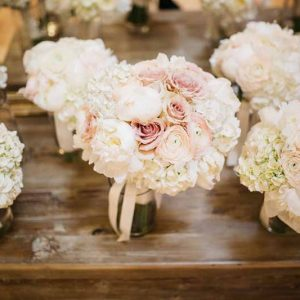 white-hydrangea-an-rose-bouquets-by-passion-for-flowers