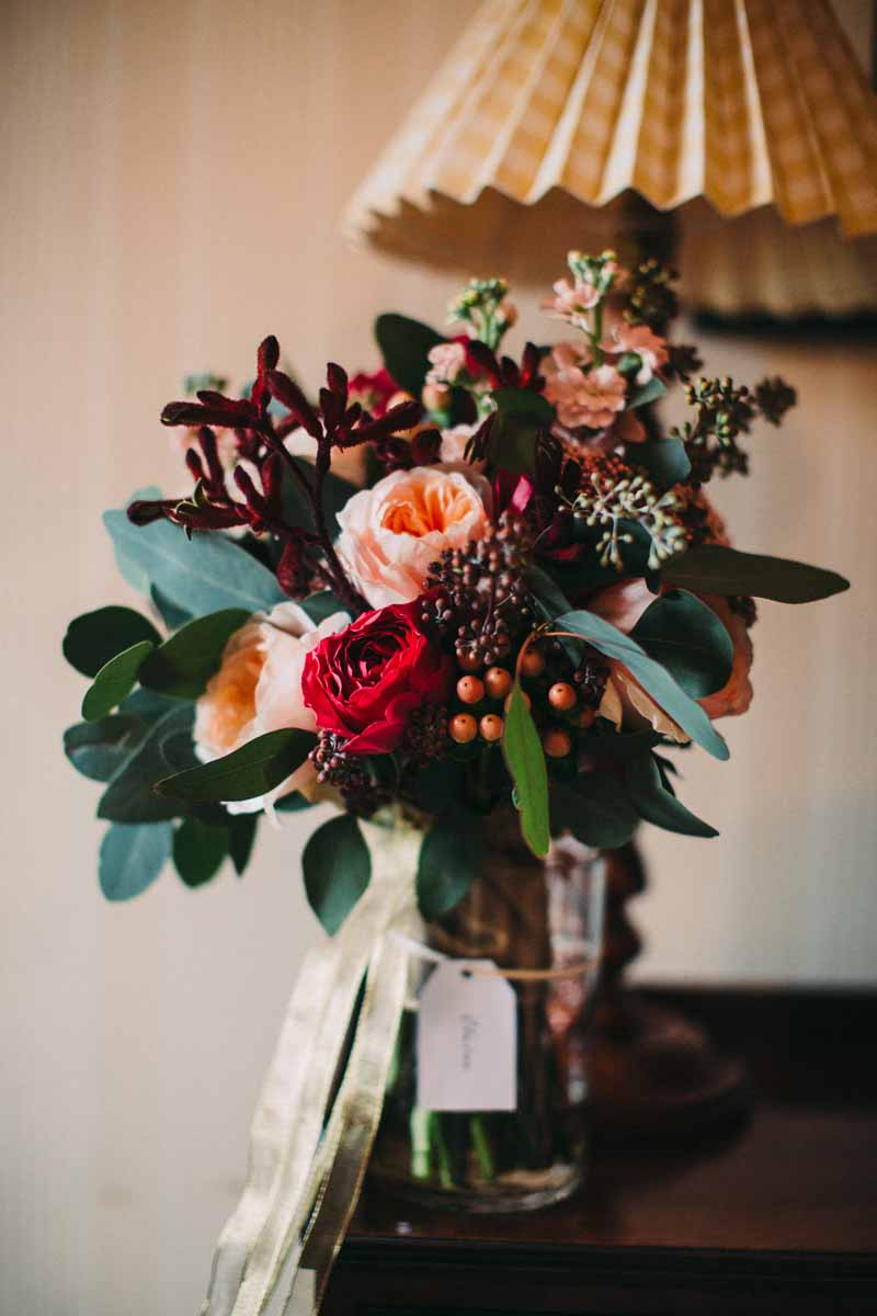 autumn-wedding-bouquet-deep-red-pink-peach-david-austin-roses-by-kmorganflowers-2