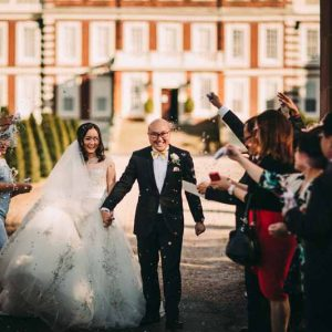 confetti-throwing-at-knowsley-hall-wedding-1