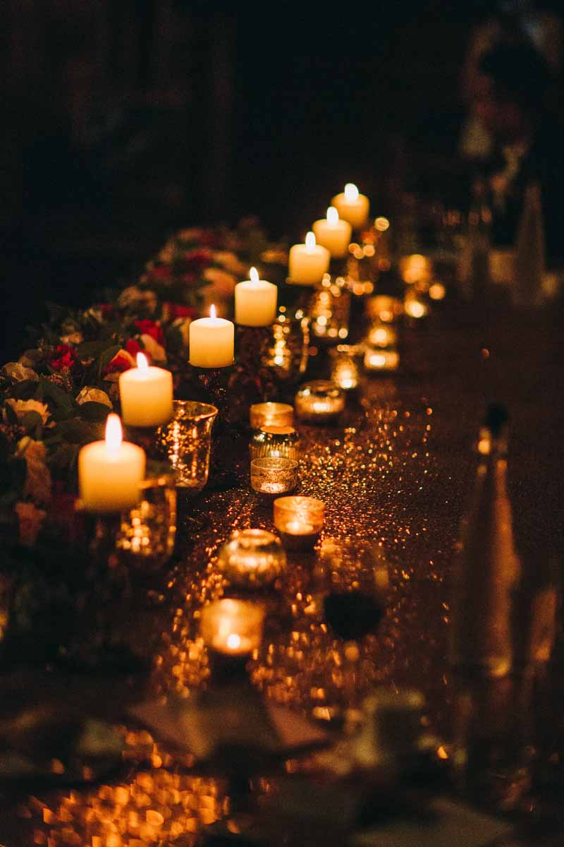 top-table-wedding-centrepieces-candle-light-and-tea-lights-by-kmorganflowers