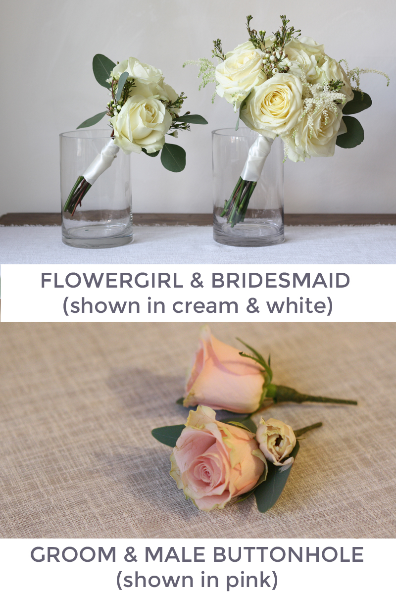 Bridesmaids bouquets and Button holes
