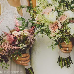 pink-purple-organic-free-form-bridesmaids-bouquets-by-passion-for-flowers