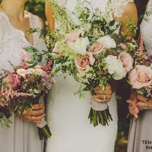 Rustic Country Style Wedding Flowers Workshop by Passion for Flowers