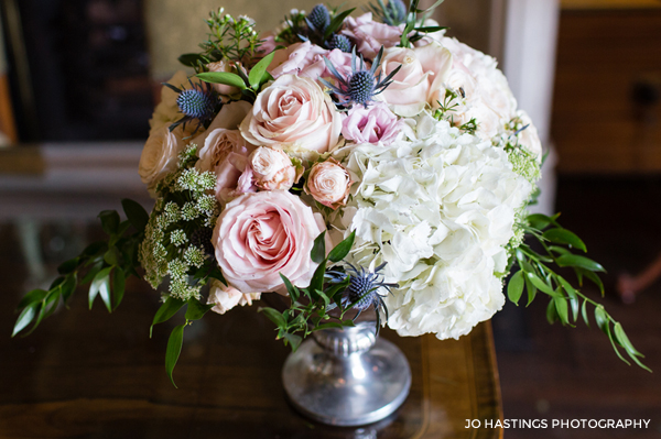 Timeless Elegant Wedding Centrepiece Workshop by Passion for Flowers
