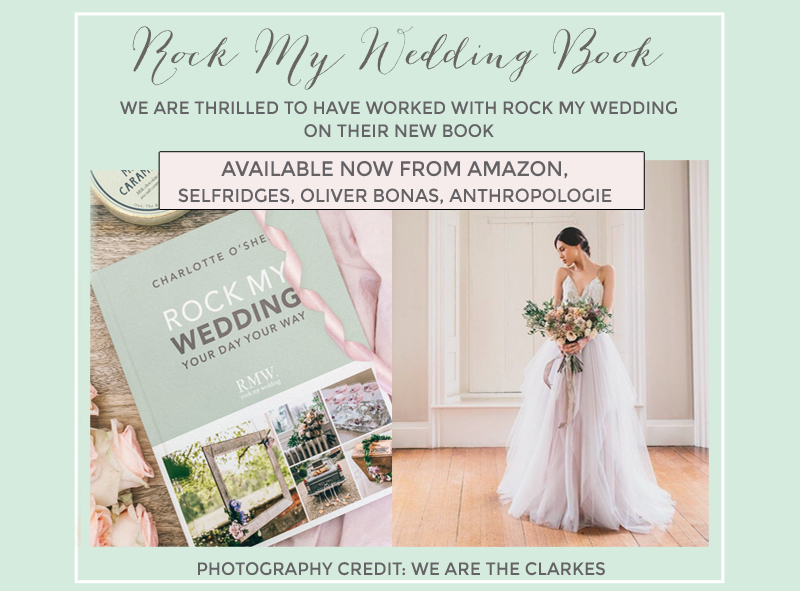 Rock My Wedding Book You Day your Way Charlotte O'Shea