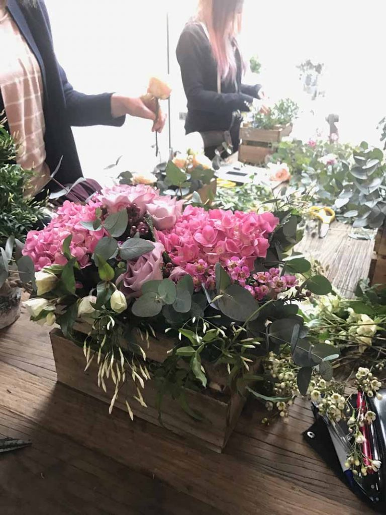 Wedding Flowers Workshops by Passion for Flowers Warwickshire Midlands