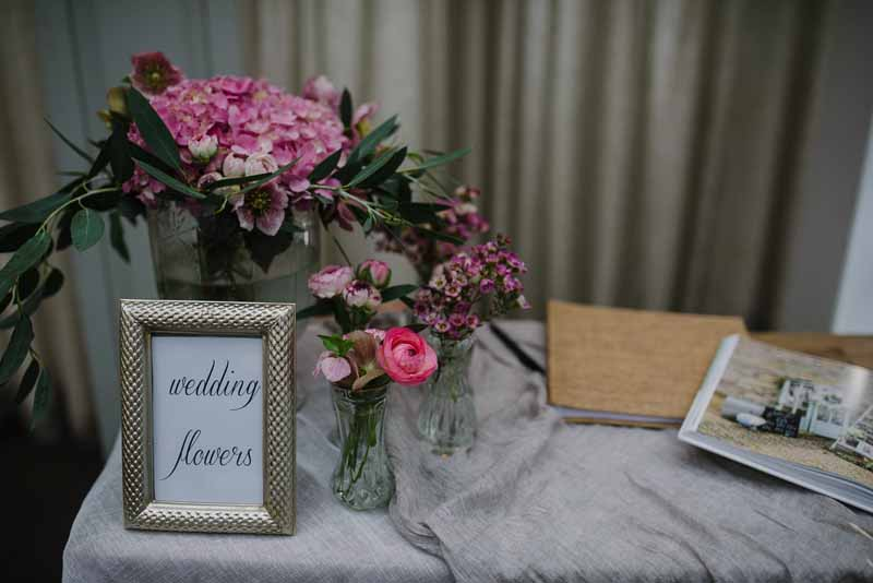 Passion for Flowers florists - Hampton Manor wedding fair (2)