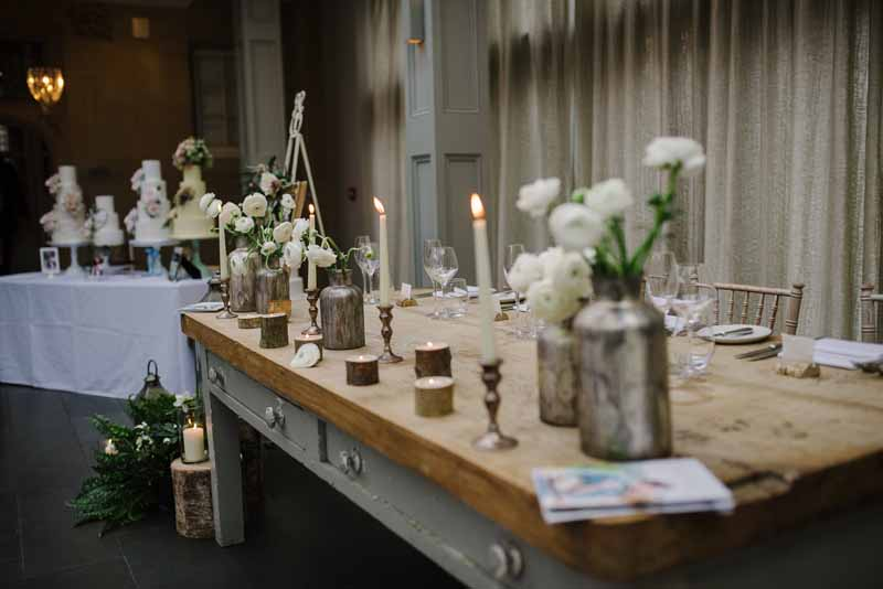 Passion for Flowers florists - Hampton Manor wedding fair (6)