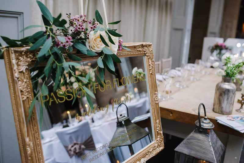 Passion for Flowers wedding fair stand at Hampton Manor wedding fair (1)