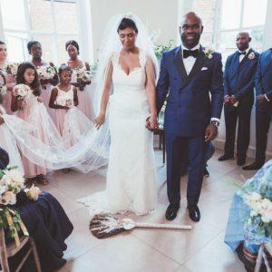 Wedding ceremony Iscoyd Park (1)