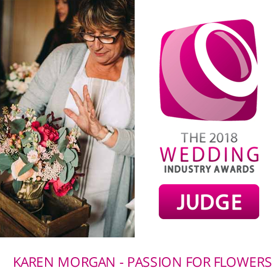 Wedding Industry Awards 2018 Florist JUDGE KAREN MORGAN
