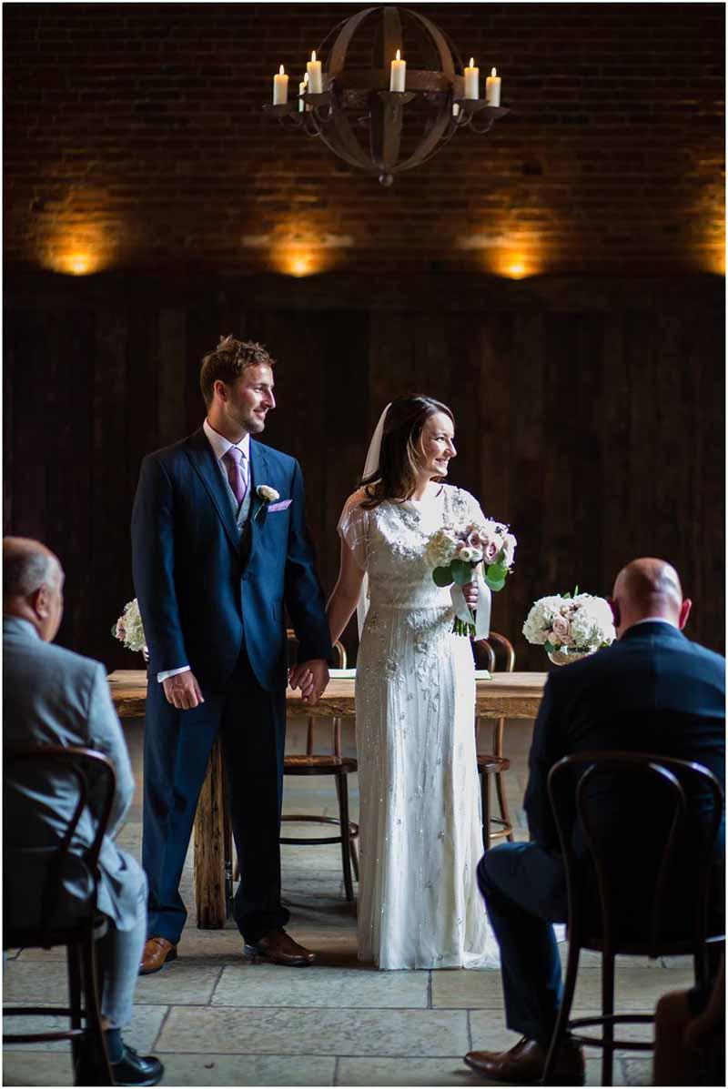 Elegant barn wedding shustoke farm barns Passion for Flowers