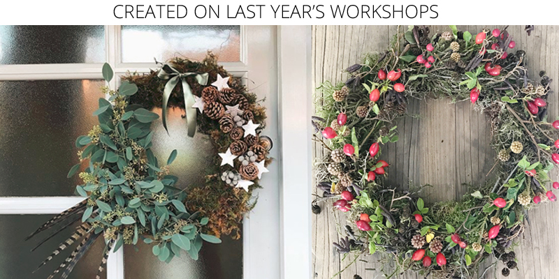 christmas wreaths workshops