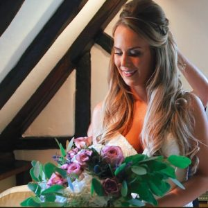 heather and stewart shustoke farm barns wedding