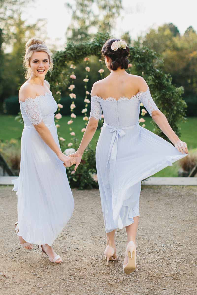 Coast Bridesmaid Dress Pale Blue – Passion for Flowers
