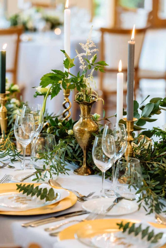 Gold-and-green-top-table-wedding
