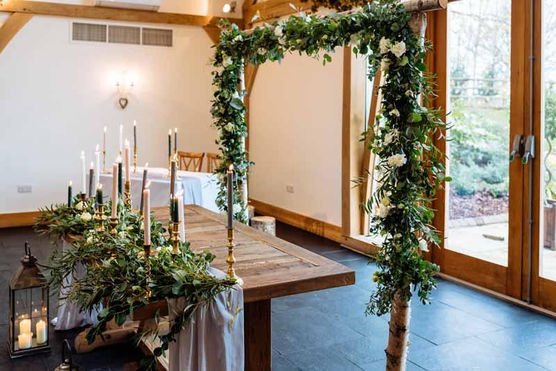 Mythe Barn Wedding Florist Passion for Flowers